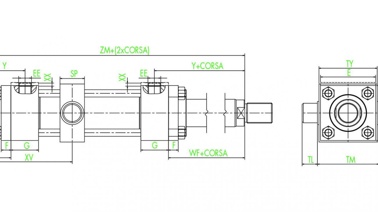 ISO 6020/2 CYLINDERS