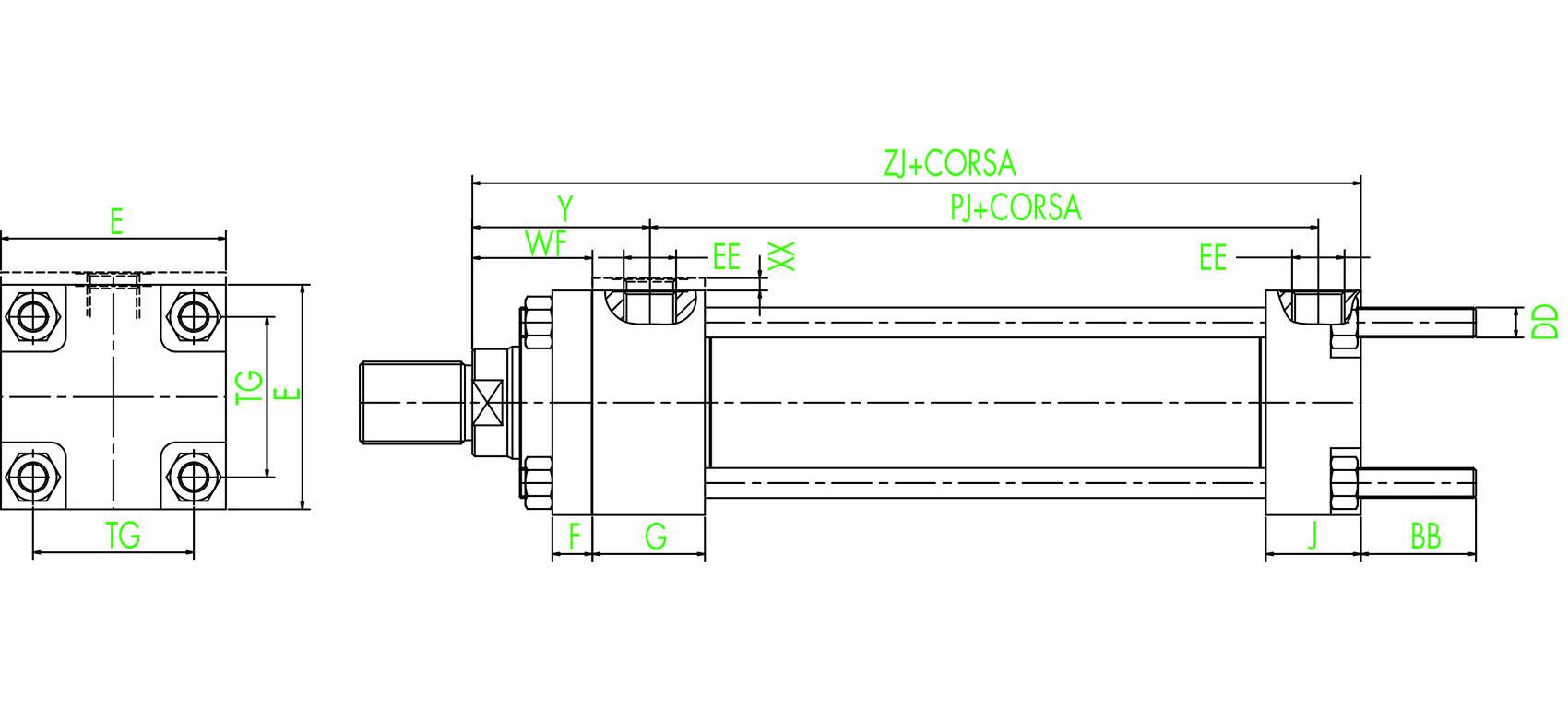 ISO MX2  Verlängerte hintere Zugstangen