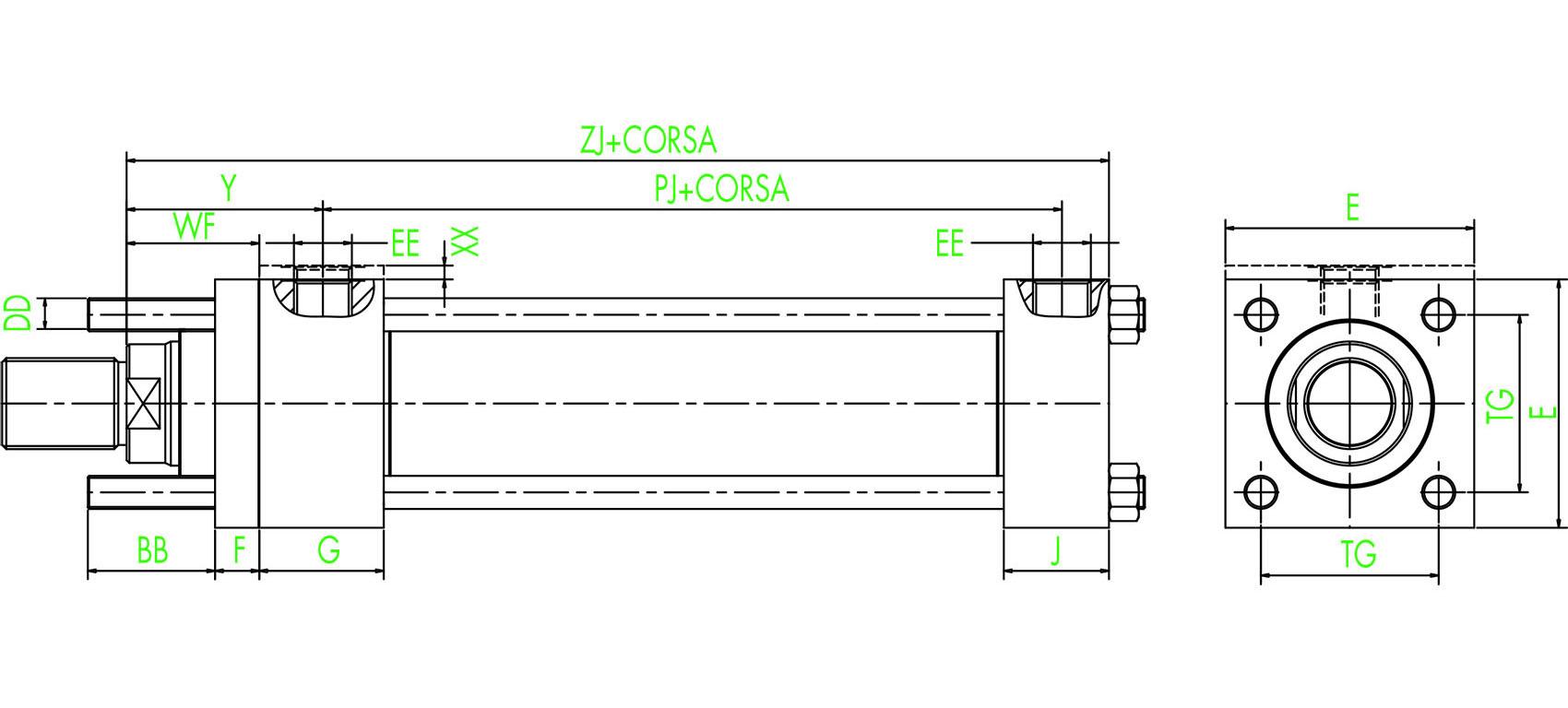 ISO MX3 Verlängerte vordere Zugstangen